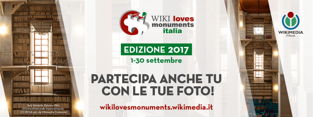 Wiki loves monuments Italia edizione 2017
